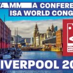 Pic with announcement for ISA World Congress in UK